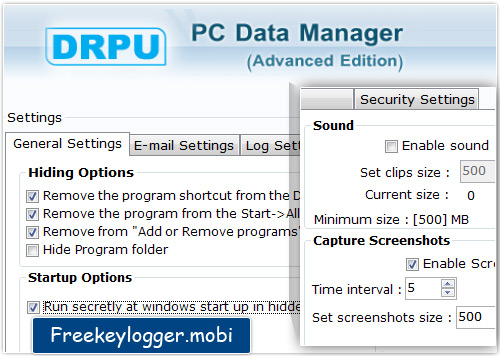 Professional Edition Keylogger Software